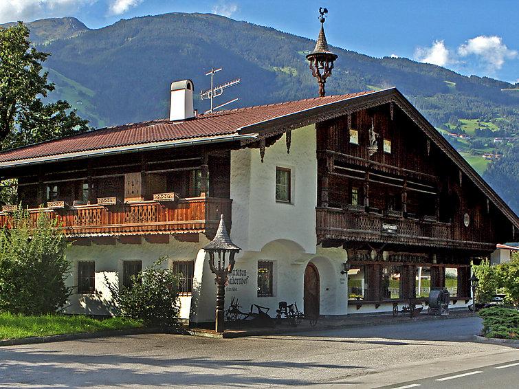 Zon appartement Julia (6p), 500 m van de piste in Hippach, Tirol, Oostenrijk (I-443)