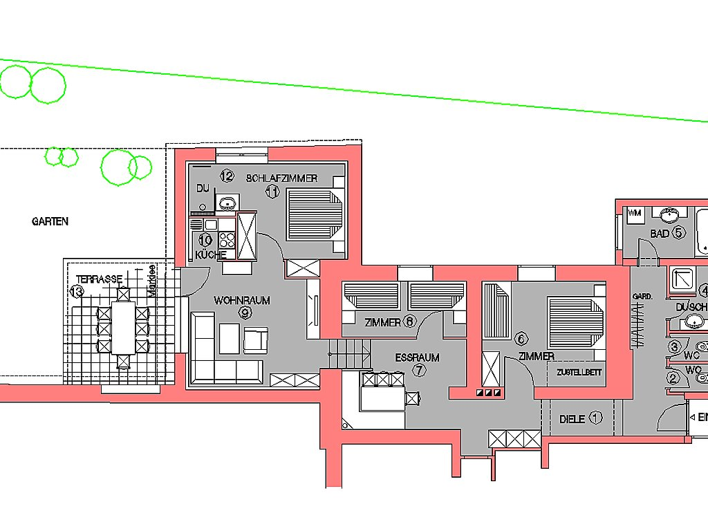 Ferienwohnung Casa Hubertus