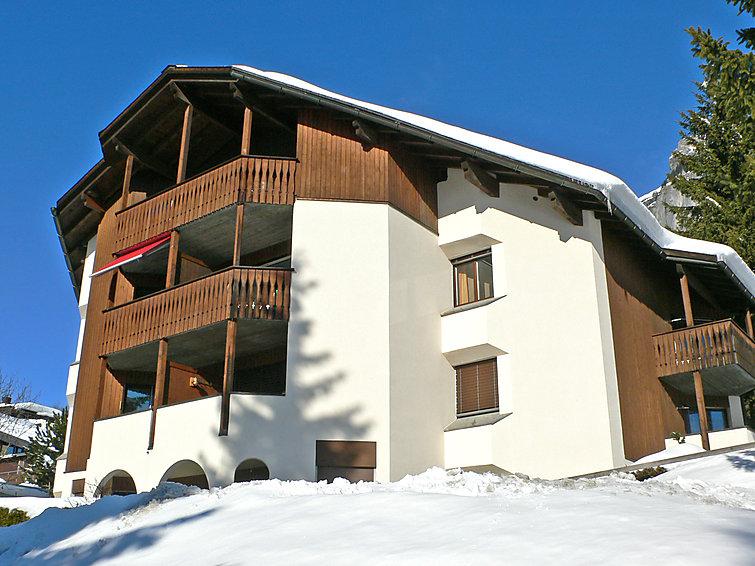 Ferienwohnung Crap Grisch (Utoring) (8715), Flims Dorf, Flims - Laax - Falera, Graubünden, Schweiz, Bild 2