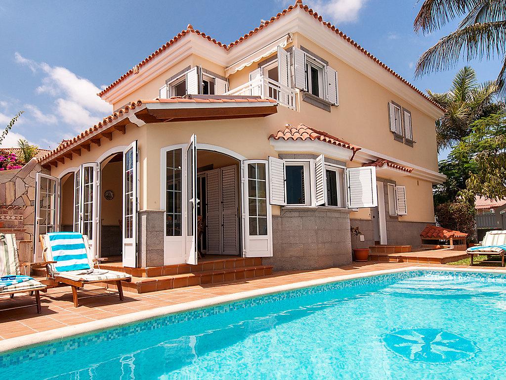ferienhaus villa sonneland con piscina privada gran canaria