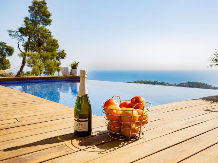 Luxury self catered chalet can bruc lloret de mar j2ski for Location maison lloret del mar avec piscine