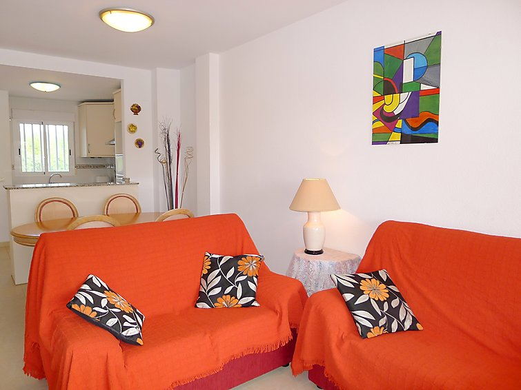 3 rooms apartment Casanova (4p) with a view over the swimmingpool in Calpe Spain (I-754)