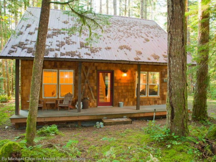 12GS Cabin w/sweet covered porch! - Chalet - Mount Baker