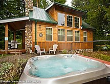 Ferienhaus 11MBR Family Cabin with Hot Tub!