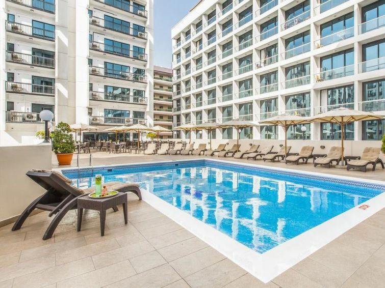 Ferielejlighed Bur Dubai al Mankhool med sauna og pool