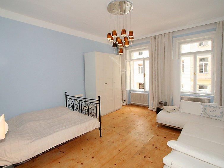 Modern en ruim appartement Johanna (4p) met openhaard in Wenen, de hoofdstad van Oostenrijk (I-419)
