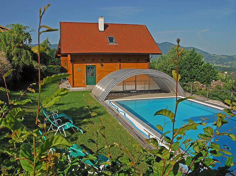 Ferie hjem Sonnleiten med opvarmet pool og til sletter cykling