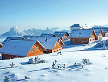 am Feuerkogel per lo sci di fondo und con camino