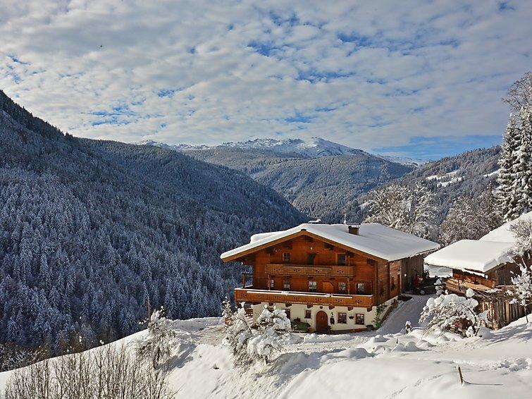 Ferielejlighed Riegergut tæt på skiområdet og med balkon