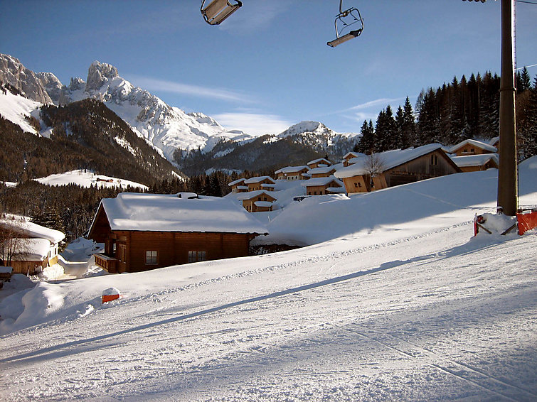 Ski area Dachstein West Holiday accommodation Annaberg (6p) at a holidaypark directly at the ski ring (I-341)