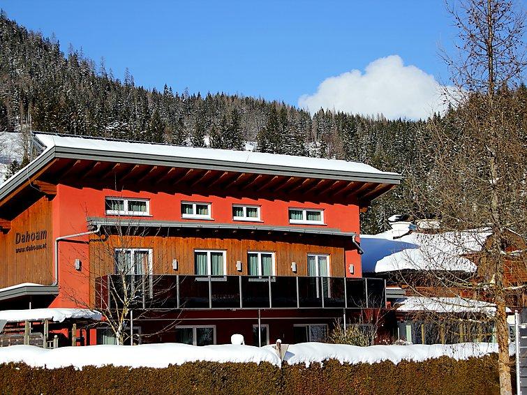 Sauna bij Appartement Dahoam (4p) op 500 meter van de piste in het Salzburgerland (I-434)
