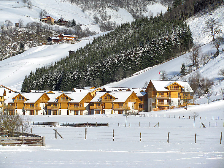 Mountainresort en Spa Schonblick (6p) in Rauris aan de skipiste (I-469)