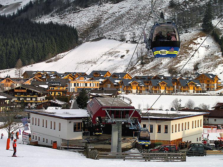 Wintersportvakantie met wellness, sauna en zwembad in appartement Schonblick (6p) (I-445)