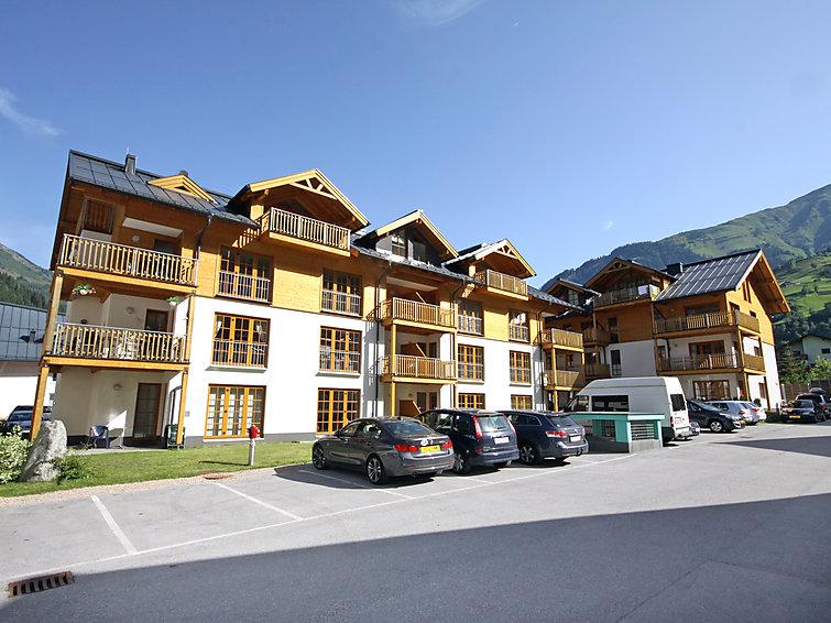 Wellness appartement (8p) in appartementencomplex Schonblick met binnenzwembad, buiten zwembad en wifi in Salzburgerland (I-468)