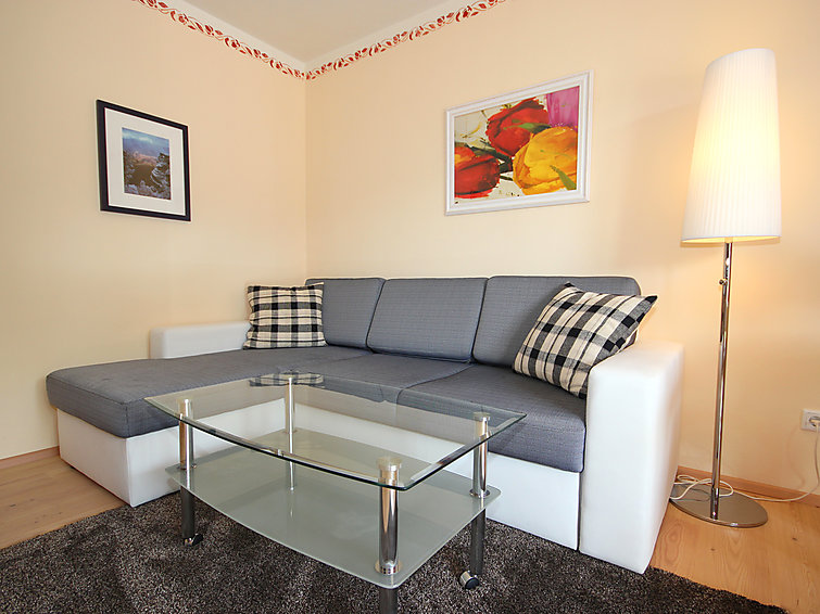 Apartment Arthur (3p) at the skiring with sauna and wifi (I-432)