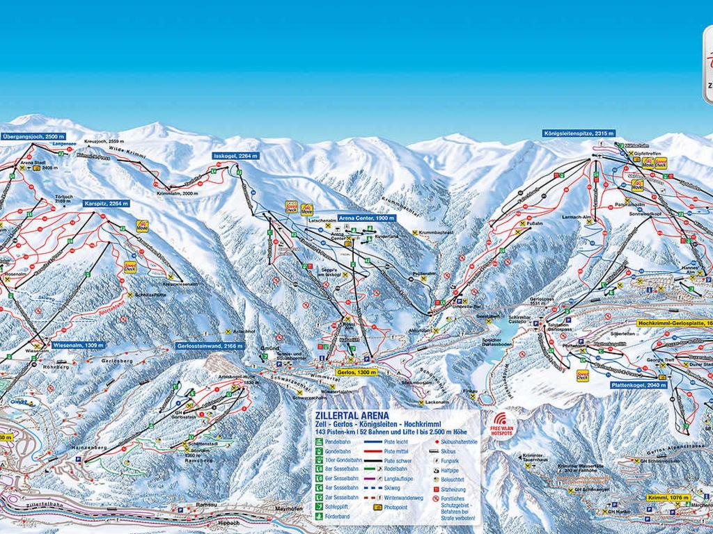 Appartement de vacances Huber (ZAZ402) (386908), Zell am Ziller, Zillertal Arena, Tyrol, Autriche, image 7