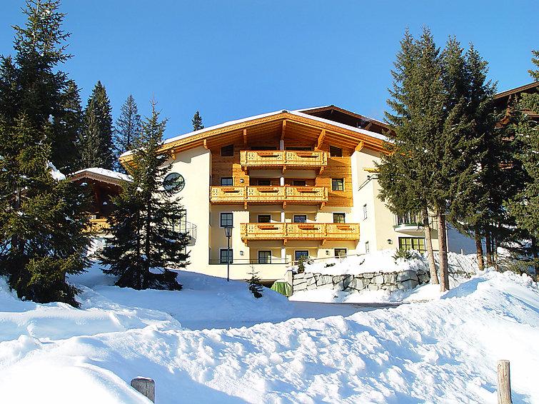 Wellness wintersportvakantie aan de piste in appartement Manuela Konigsleiten (4p) (I-287)