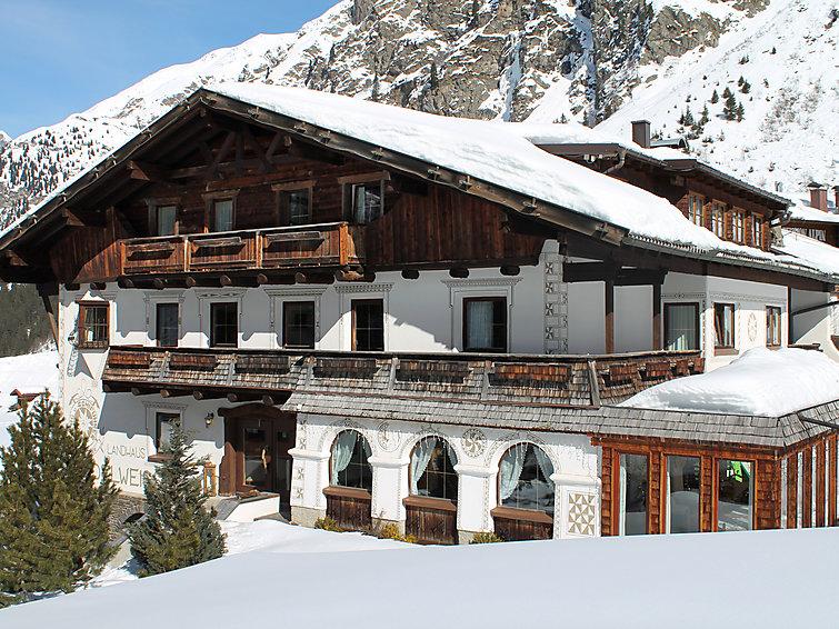 Wintersportvakantie in het Pitztal in chalet (4p) met wifi en sauna. Aan de piste (I-485)