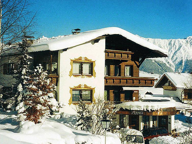 Gezellig appartement Platz an der Sonne aan het skigebied in Tirol (3p) (I-319)