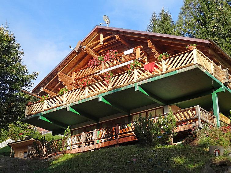 Ferielejlighed Moser med overdækket parkeringsplads og balkon
