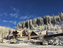 Hirschegg - Pack - Vakantiehuis Panoramahütte