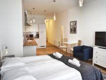 Laeken Residence med wlan og bruser