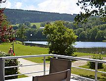 Les Terrasses du Lac Fırınla ve balkonlu