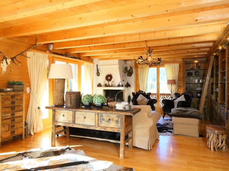 Vakantiehuis chalet petit roc in villars zwitserland ch