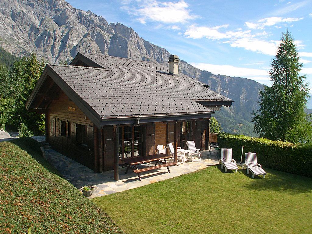Casa di vacanza les falaises ovronnaz e dintorni for Piani di casa del bungalow del sud