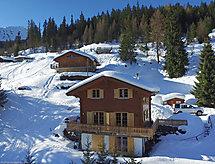 La Tzoumaz - Ferienhaus Chalet Les Bubus