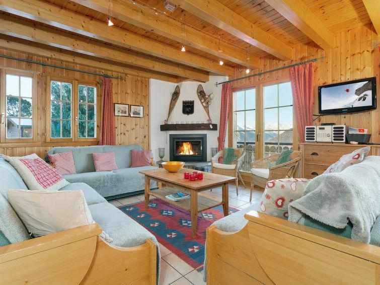 Maison de vacances Chalet Les Bubus La Tzoumaz, Suisse CH1914.132.1 ...