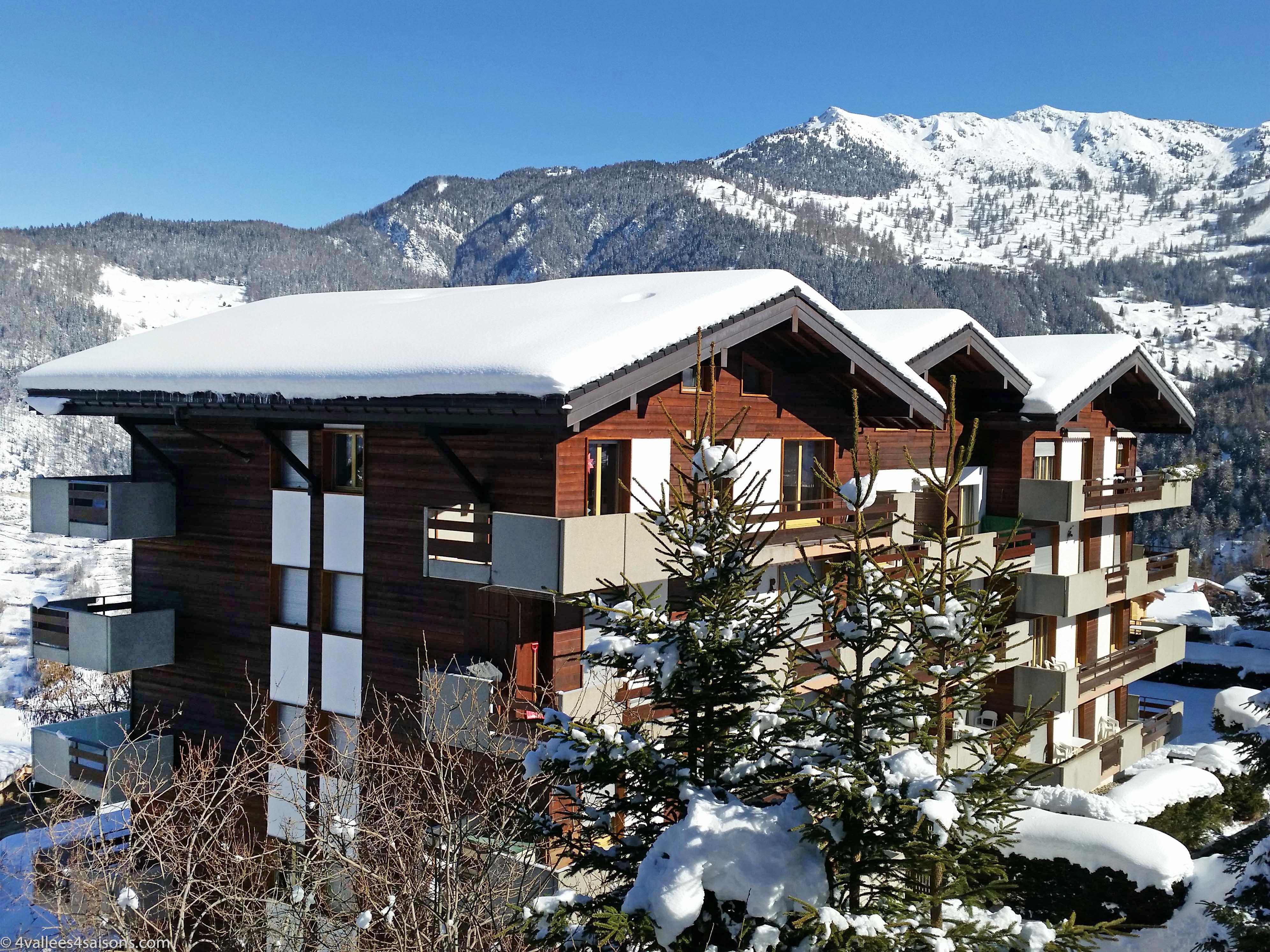 Appartement Nevada II/Apt 405 in La Tzoumaz, Zwitserland CH1914 ...