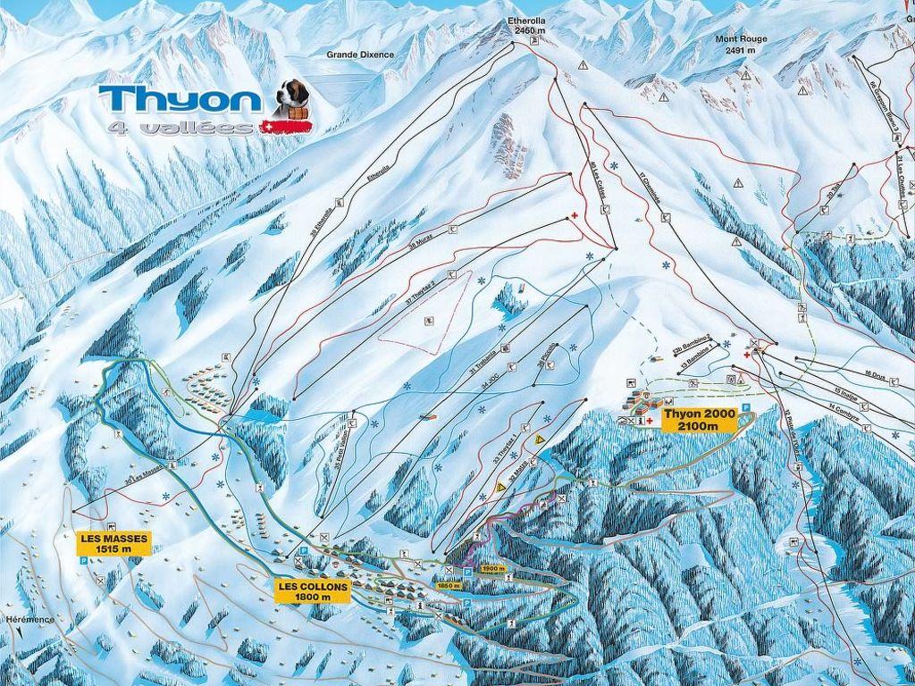 Ferienwohnung Agence Imalp Thyon SA (LCN298) (2612121), Thyon-Les Collons, 4 Vallées, Wallis, Schweiz, Bild 15