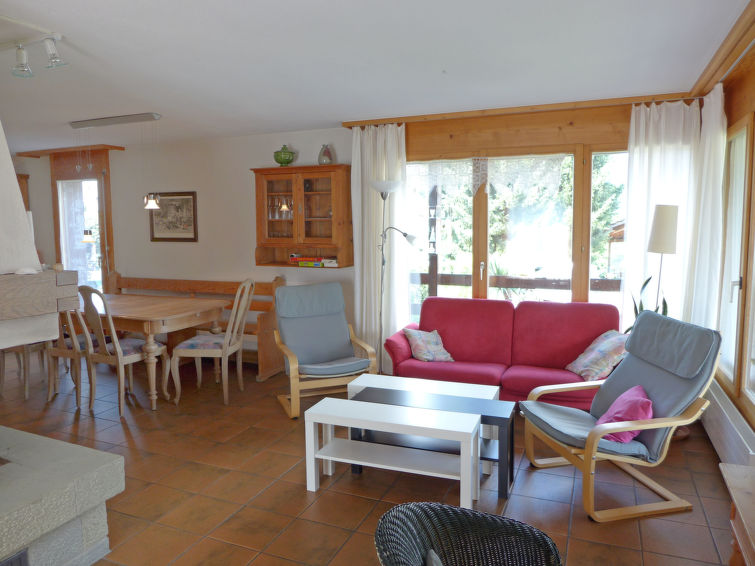 Chalet Marbach Apartment in Faulensee
