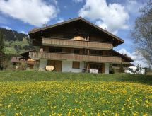 Lenk - Appartement Chalet Lerchweid - 1. Stock links