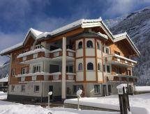 Saas-Grund - Vakantiehuis Haus Alpenstern, Wohnung Aelpi