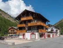 Saas-Almagell - Appartement Chalet Alpenrösli