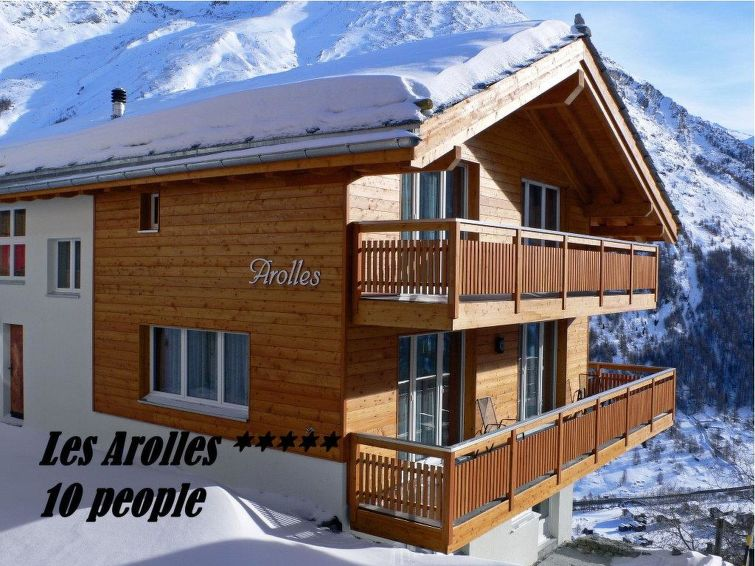 Modern Zwitsers Chalet : Appartement chalet les arolles in saas fee zwitserland