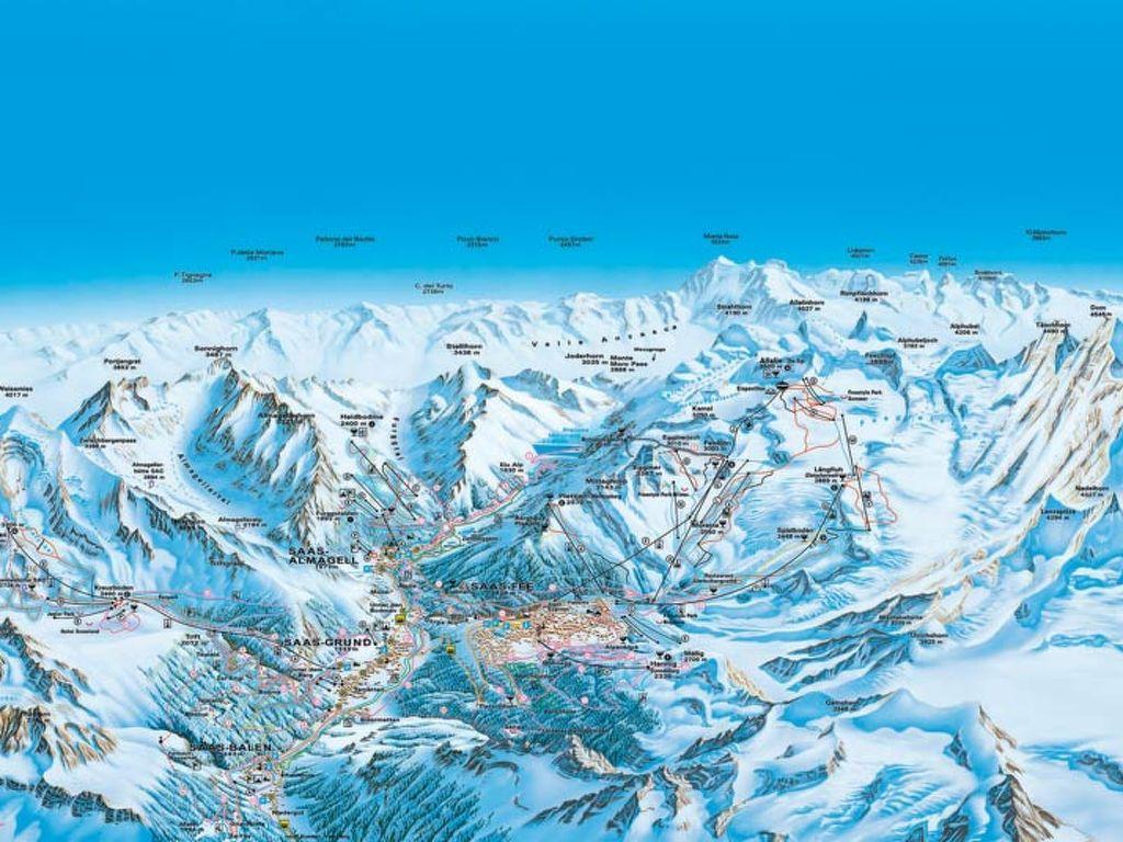 Ferienwohnung Chalet Venetz (105900), Saas Fee, Saastal, Wallis, Schweiz, Bild 3