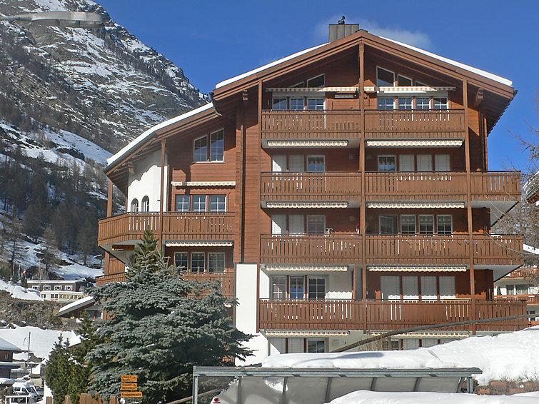 Apartamento De Férias Les Violettes para esqui de fundo e com microondas