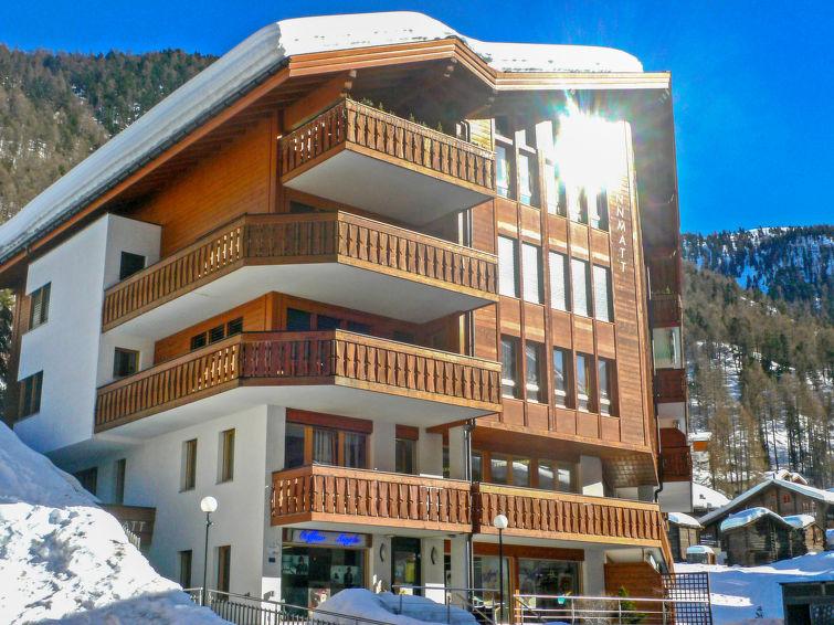 Apartamento De Férias Brunnmatt próxima área de esqui e para ciclismo de montanha