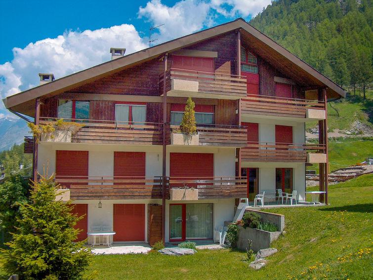Behang Slaapkamer Gamma : Appartement gamma in zermatt zwitserland ch3920.7.1 interhome