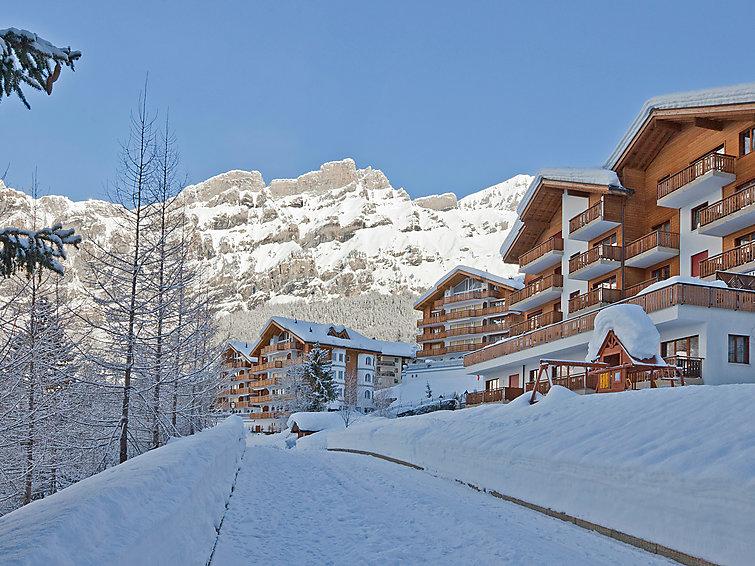 Ferielejlighed Les Naturelles tæt på skiområdet og til snowboarding