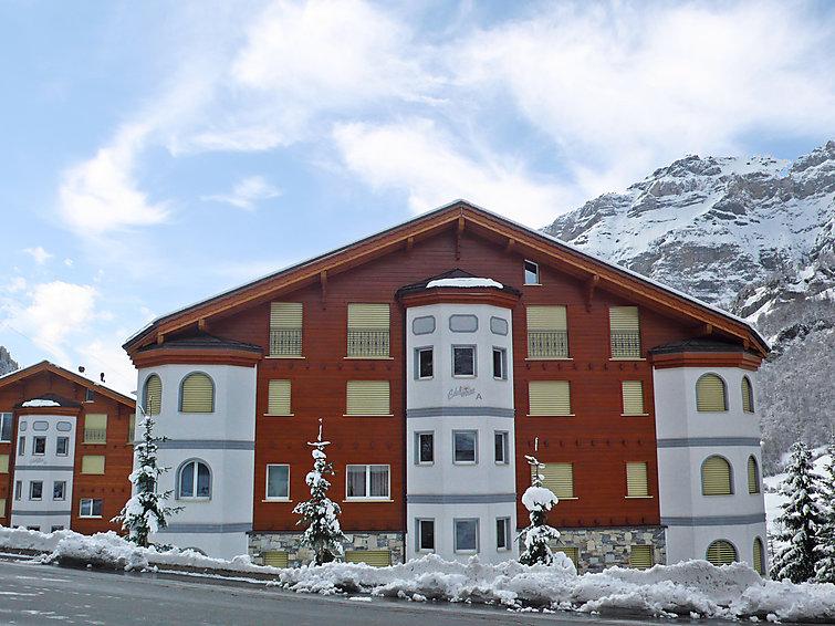 Ferielejlighed Edelweiss A til snowboarding og med elevator