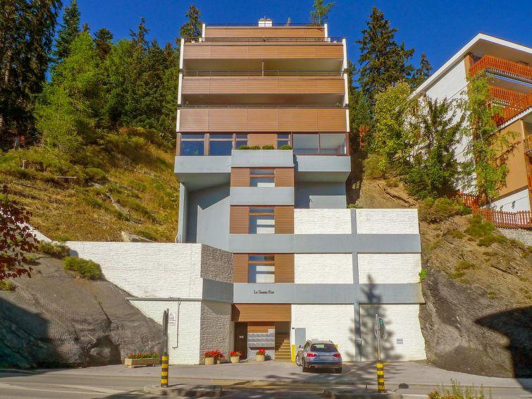 Apartamento De Férias Grand-Roc para tobogã e caminhadas planícies