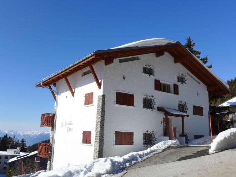 Les Aiguilles Vertes in Crans-Montana - Wallis, Zwitserland foto 921144