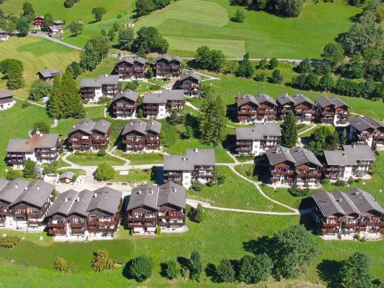 Aragon in Ernen - Wallis, Zwitserland foto 927478