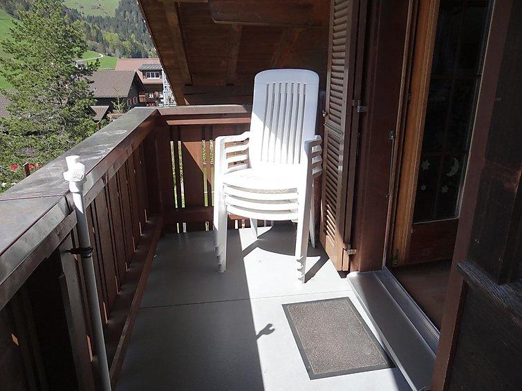 Ferielejlighed Aurora med tv og balkon