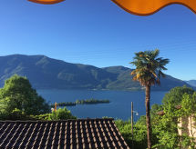 Ronco sopra Ascona - Appartement Casa Rita - Vista Isole Brissago