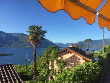 Ronco sopra Ascona - Appartement Casa Rita - Vista Isole Brissago